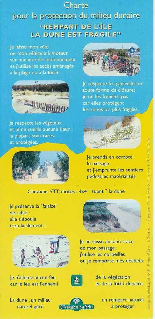 Charte pour la protection du milieu dunaire