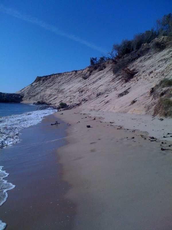 La dune le 23 août 2009