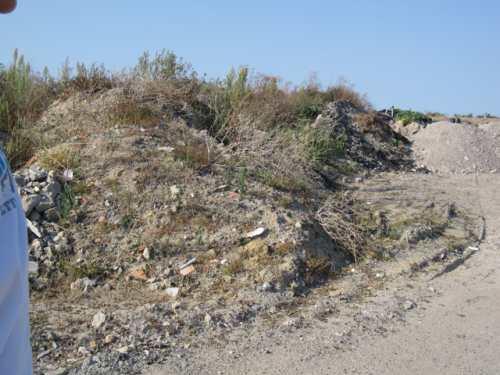 matériaux de rebut dans la zone ostréicole de la Guérinière 2