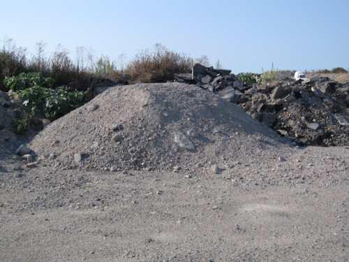 matériaux de rebut dans la zone ostréicole de la Guérinière 3