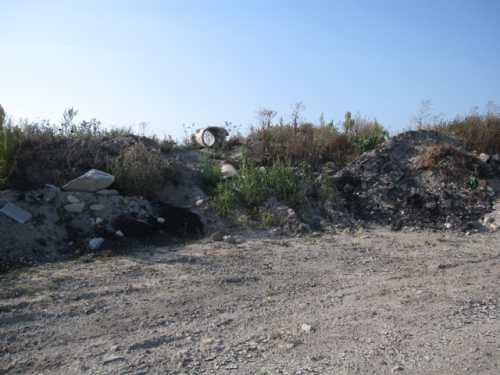 matériaux de rebut dans la zone ostréicole de la Guérinière 4