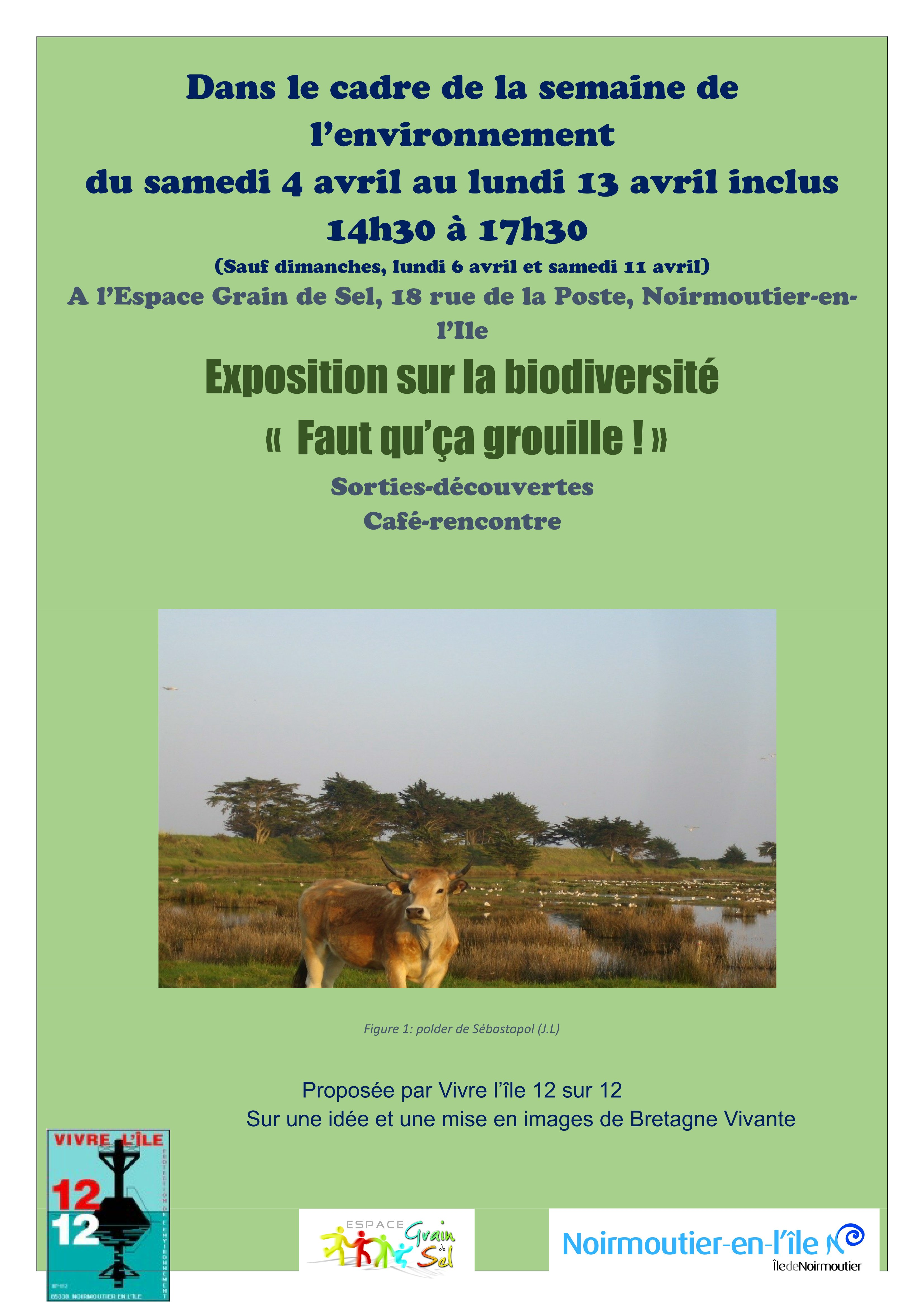 affiche expo biodiversite