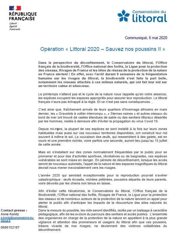 Opération Littoral 2020
